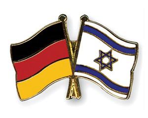 Freundschaftspins Deutschland-Israel