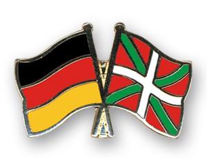 Freundschaftspins Deutschland-Baskenland