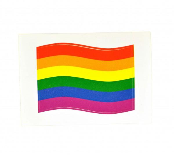 Regenbogen Mini-Aufkleber