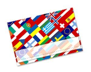 Einlegekarten Flaggen Europa