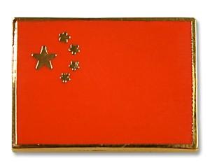 Flaggen-Pins China (rechteckig)