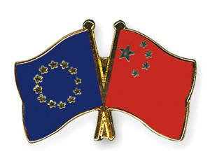 Freundschaftspins Europa-China