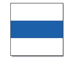 Flagge Zug