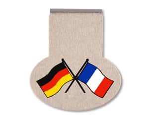 Büroklammer PremioClip Deutschland-Frankreich