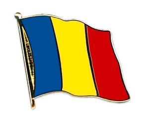 Flaggen-Pins Rumänien