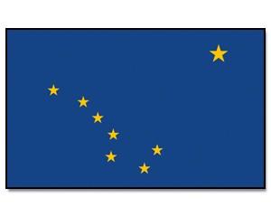 Flagge Alaska