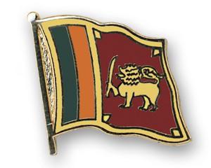 Flaggen-Pins Sri Lanka