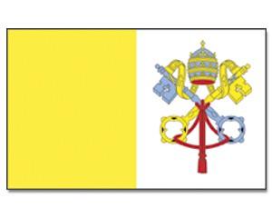 Stock-Flagge Vatikanstadt