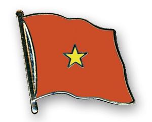 Flaggen-Pins Vietnam