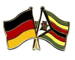 Freundschaftspins Deutschland-Simbabwe