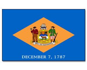 Flagge Delaware