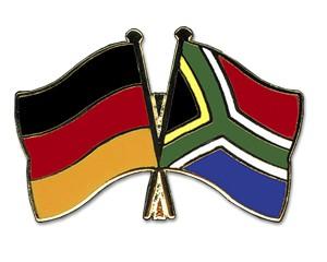 Freundschaftspins Deutschland-Südafrika