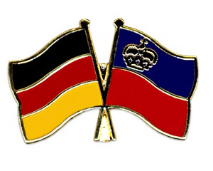 Freundschaftspins Deutschland-Liechtenstein