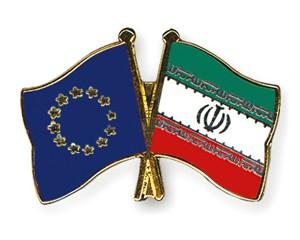 Freundschaftspins Europa-Iran
