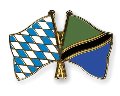 Freundschaftspins Bayern-Tansania