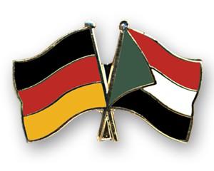 Freundschaftspins Deutschland-Sudan