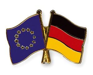 Freundschaftspins Europa-Deutschland