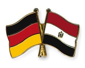 Freundschaftspins Deutschland-Ägypten