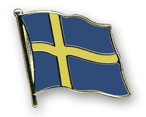 Flaggen-Pins Schweden