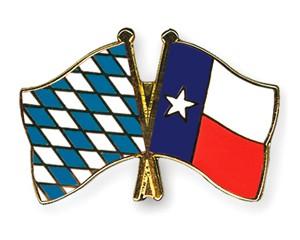 Freundschaftspins Bayern-Texas