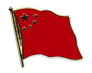 Flaggen-Pins China