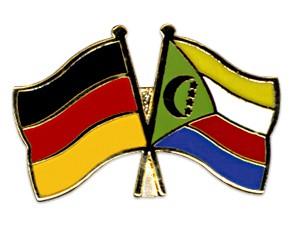 Freundschaftspins Deutschland-Komoren