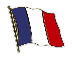 Flaggen-Pins Frankreich