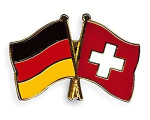 Freundschaftspins Deutschland-Schweiz