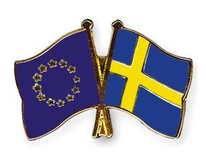 Freundschaftspins Europa-Schweden