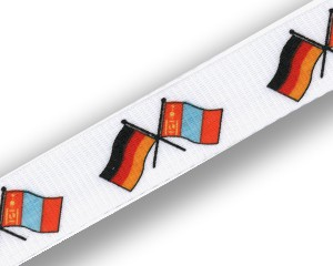 Freundschafts-Schlüsselbänder Deutschland-Mongolei