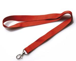 Schlüsselband 20 mm rot