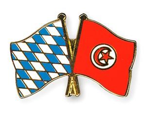 Freundschaftspins Bayern-Tunesien