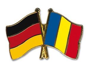 Freundschaftspins Deutschland-Rumänien