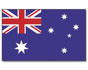 Stock-Flagge Australien
