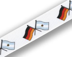 Freundschafts-Schlüsselbänder Deutschland-Argentinien