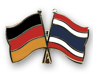 Freundschaftspins Deutschland-Thailand