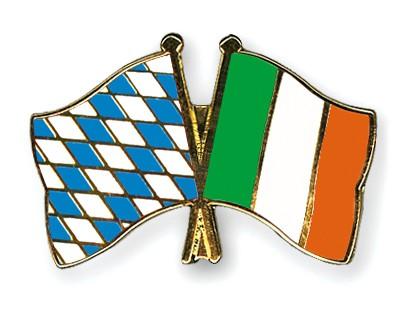 Freundschaftspins Bayern-Irland