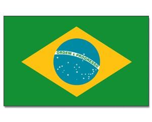 Stock-Flagge Brasilien