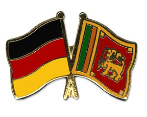 Freundschaftspins Deutschland-Sri Lanka