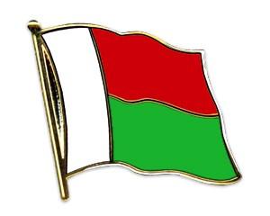 Flaggen-Pins Madagaskar