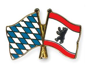 Freundschaftspins Bayern-Berlin