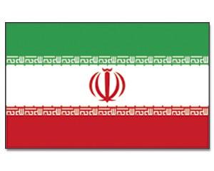 Stock-Flagge Iran