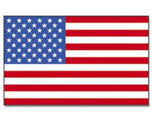 Stock-Flagge USA