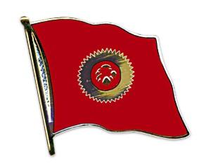 Flaggen-Pins Kirgisistan