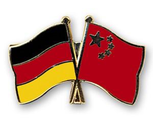 Freundschaftspins Deutschland-China