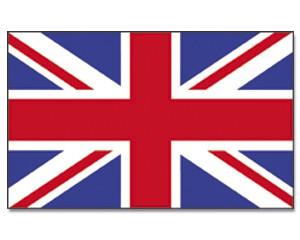 Stock-Flagge Großbritannien