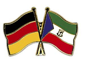 Freundschaftspins Deutschland-Äquatorialguinea
