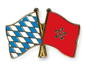 Freundschaftspins Bayern-Hong Kong