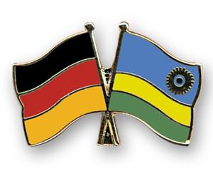 Freundschaftspins Deutschland-Ruanda