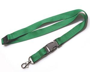 Schlüsselband 20 mm grün mit KSV und SV